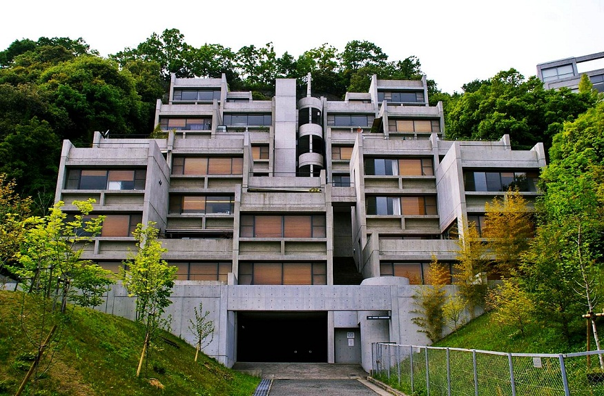 Rokko Housing One, Kobe Japon, 1979